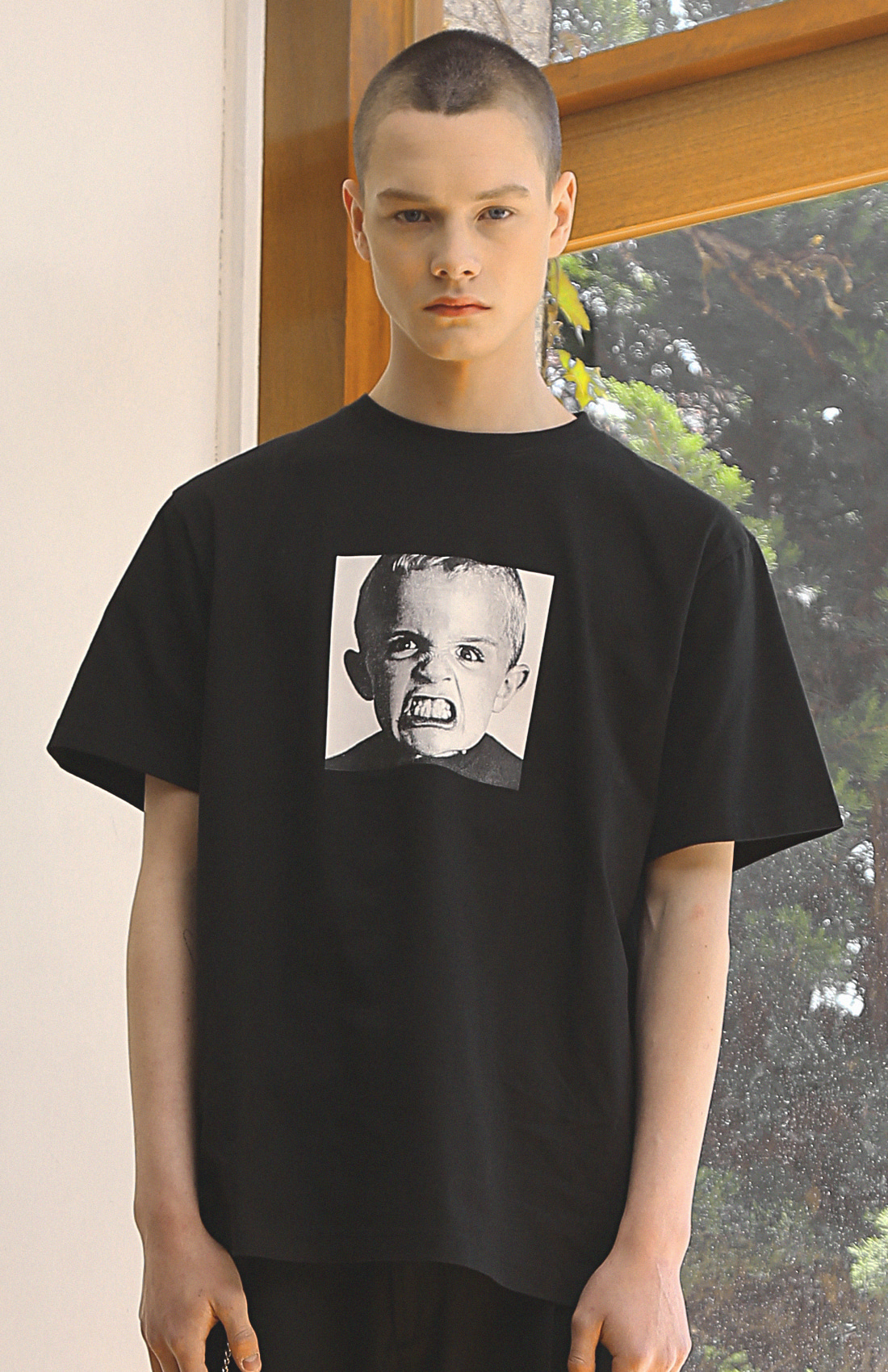 PLE BABY T-SHIRTS /BLACK