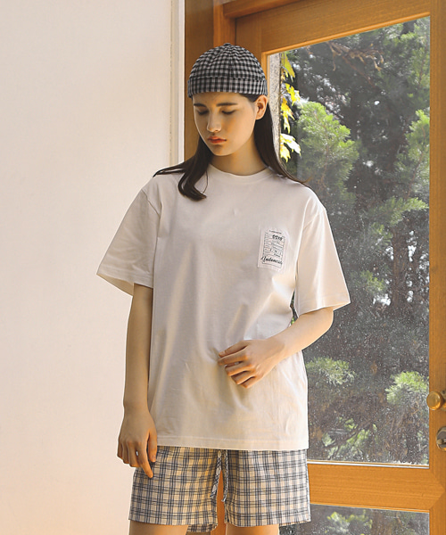 HANG LABEL T-SHIRTS / WHITE
