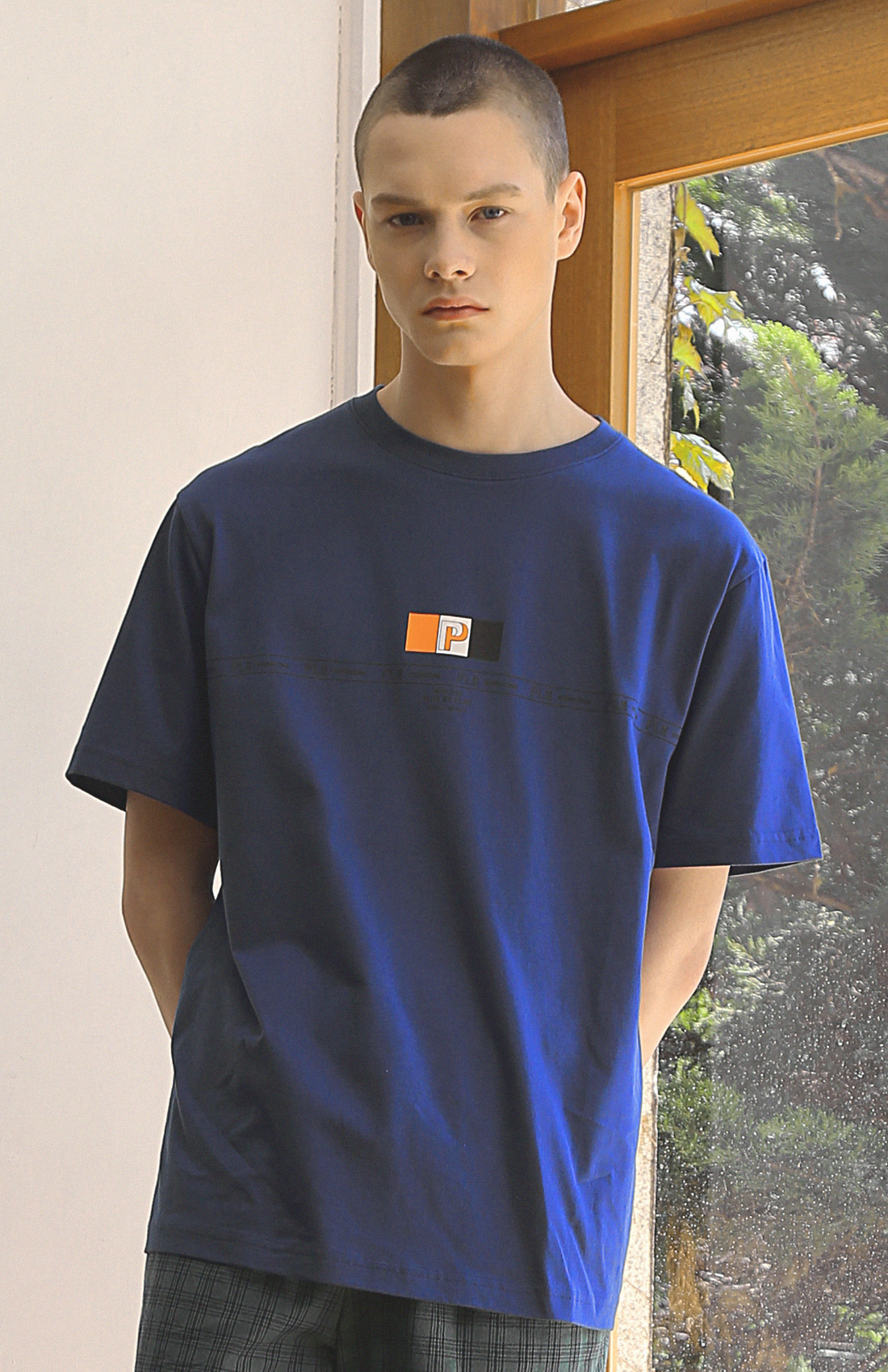FLAG T-SHIRTS / BLUE