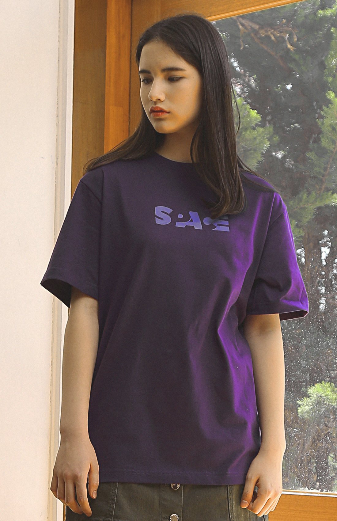 SPACE T-SHIRTS / PURPLE