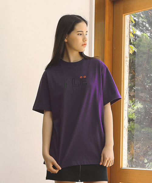 NEEDLE PLE T-SHIRTS / PURPLE